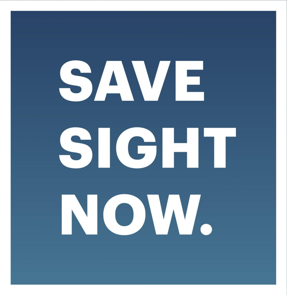 Save Sight Now logo